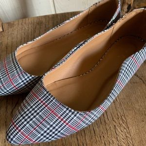 Women's Houndstooth Flats
